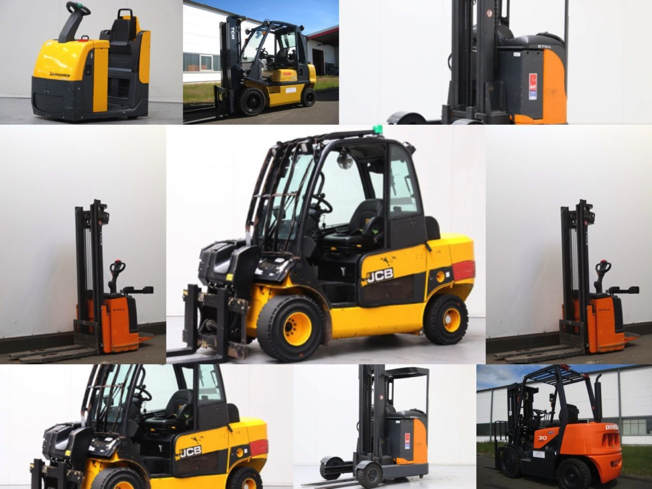 Used Forklifts, Generators, Material Handling Equipment