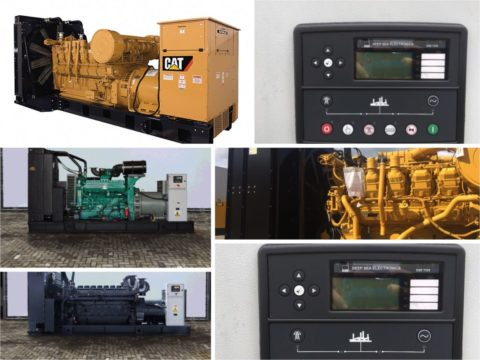 Used Diesel Generators CAT, Perkins, Cummings and FG Wilson GENERATORS for sale
