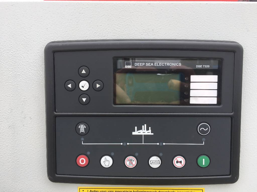 Control Panel Perkins 1125kVA Standby/ Prime Diesel Generator